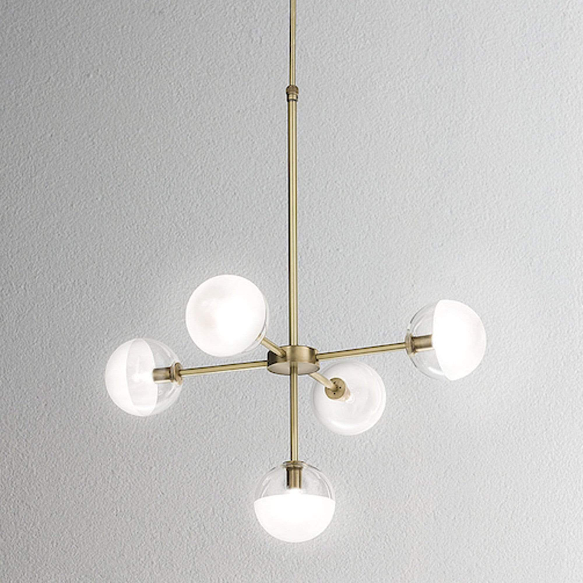 Interior Pendant Molecola 5lt Suspension Lamp