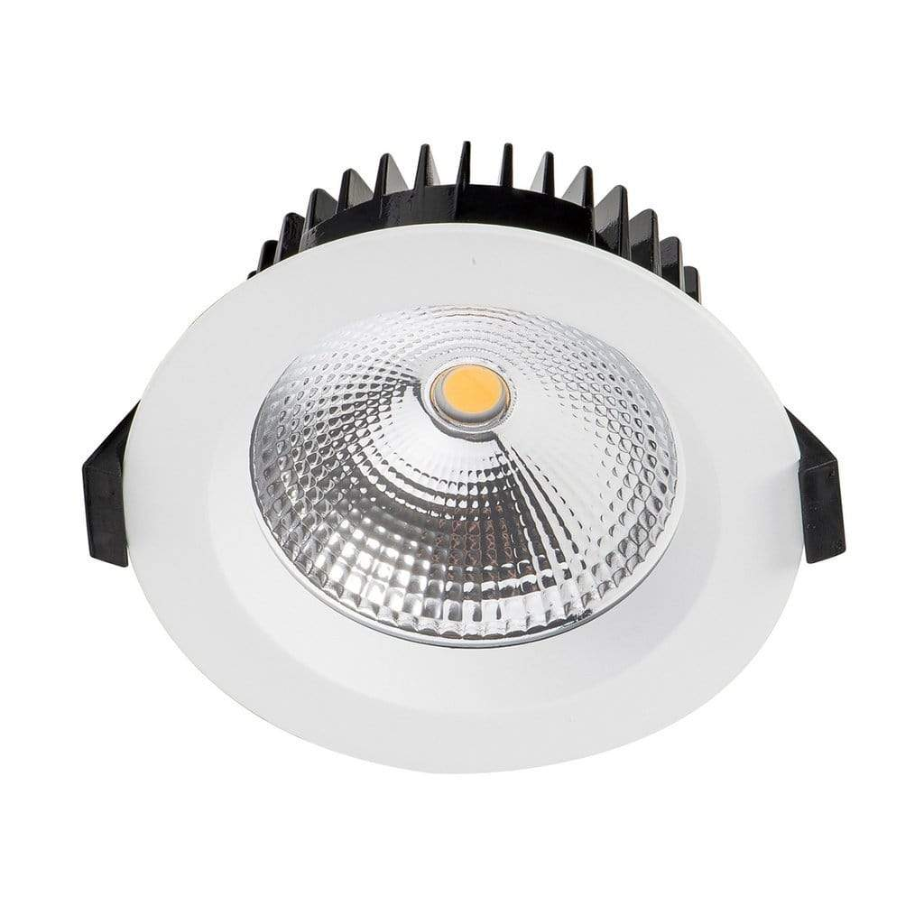 Recessed Down Light ORA - Matt White Dimmable LED Downlight