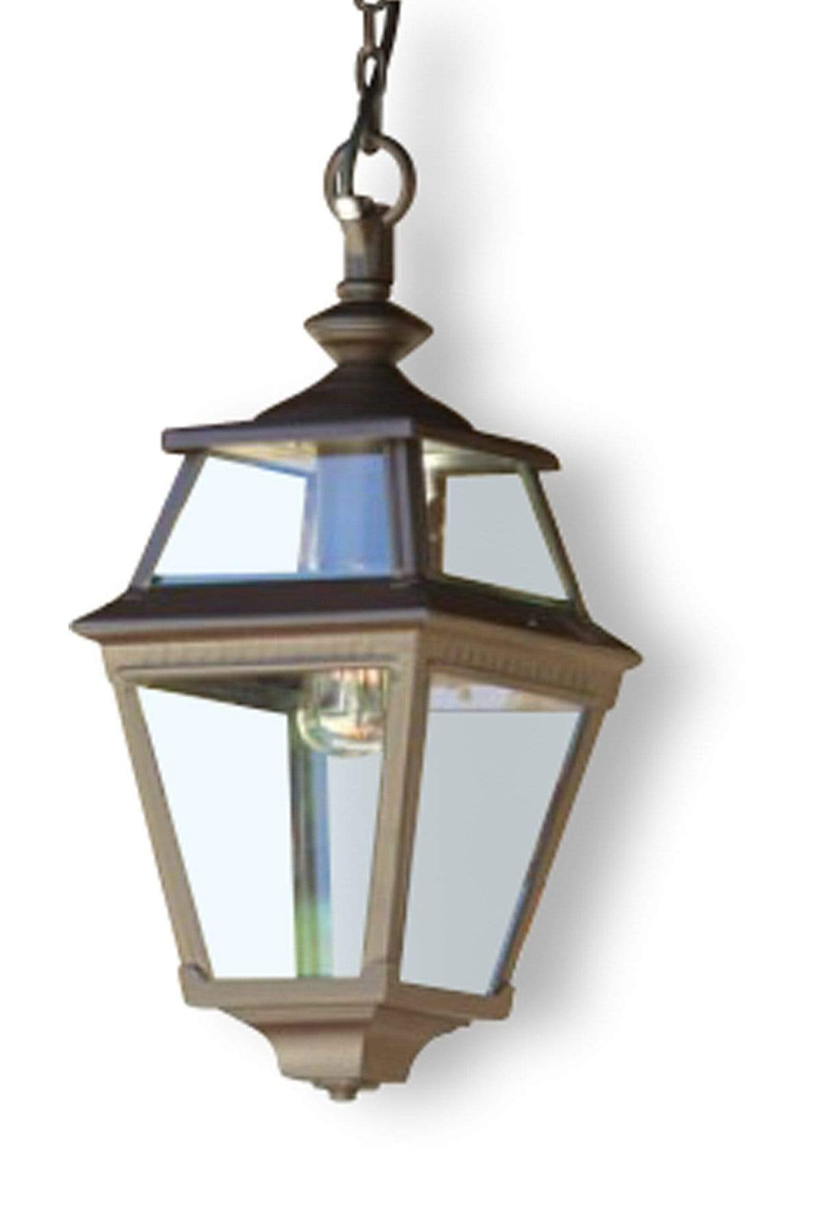 CLEARANCE Place des Vosges 3 Hanging Lantern - Brass