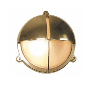 Bunkers Queenscliff Brass Bunker Wall Light