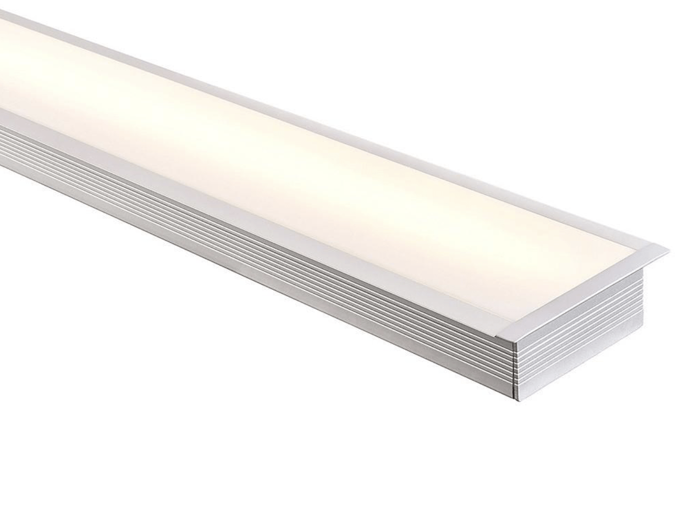Profiles Recessed Profile - Large Deep Square Winged - HV9695-9835 lighting shops lighting stores LED lights  lighting designer
