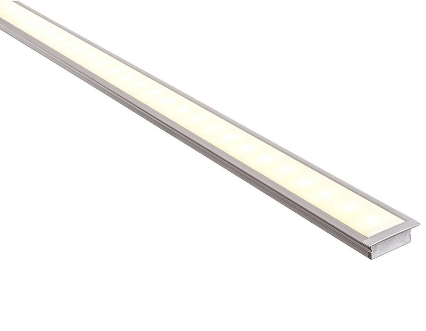 Profiles Recessed Profile - Shallow Square Winged - HV9695-2810 lighting shops lighting stores LED lights  lighting designer