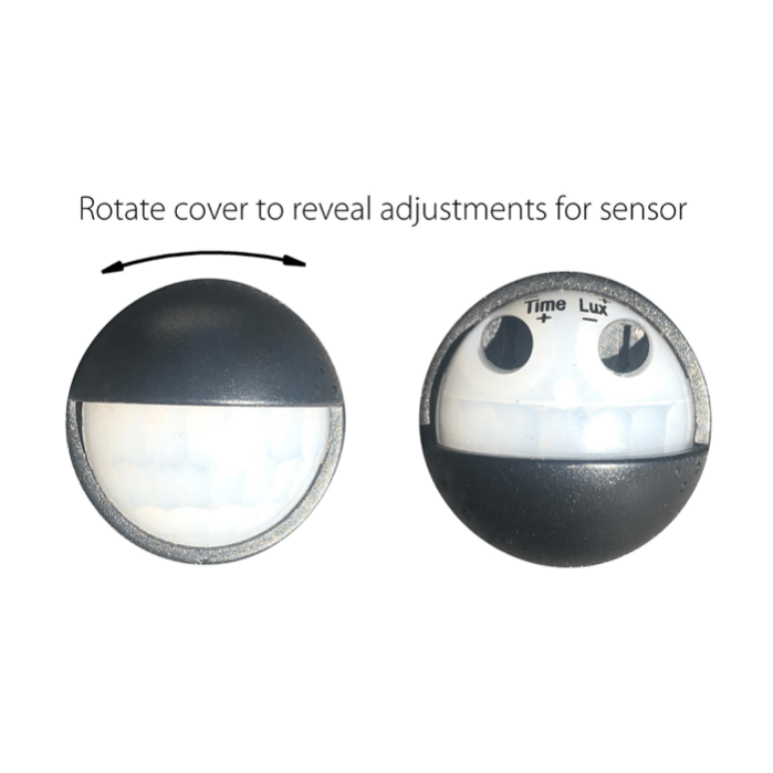 REVO - Double Adjustable Wall Light with Sensor lighting shops lighting stores LED lights lighting designer