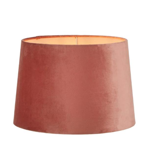 Lamp Shades Rose Pink Velvet Shade