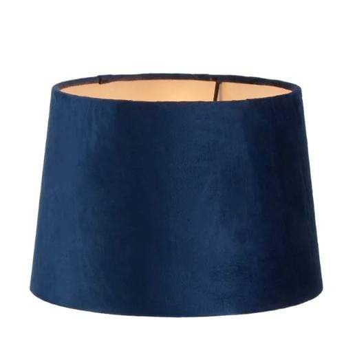 Lamp Shades Royal Blue Velvet Shade