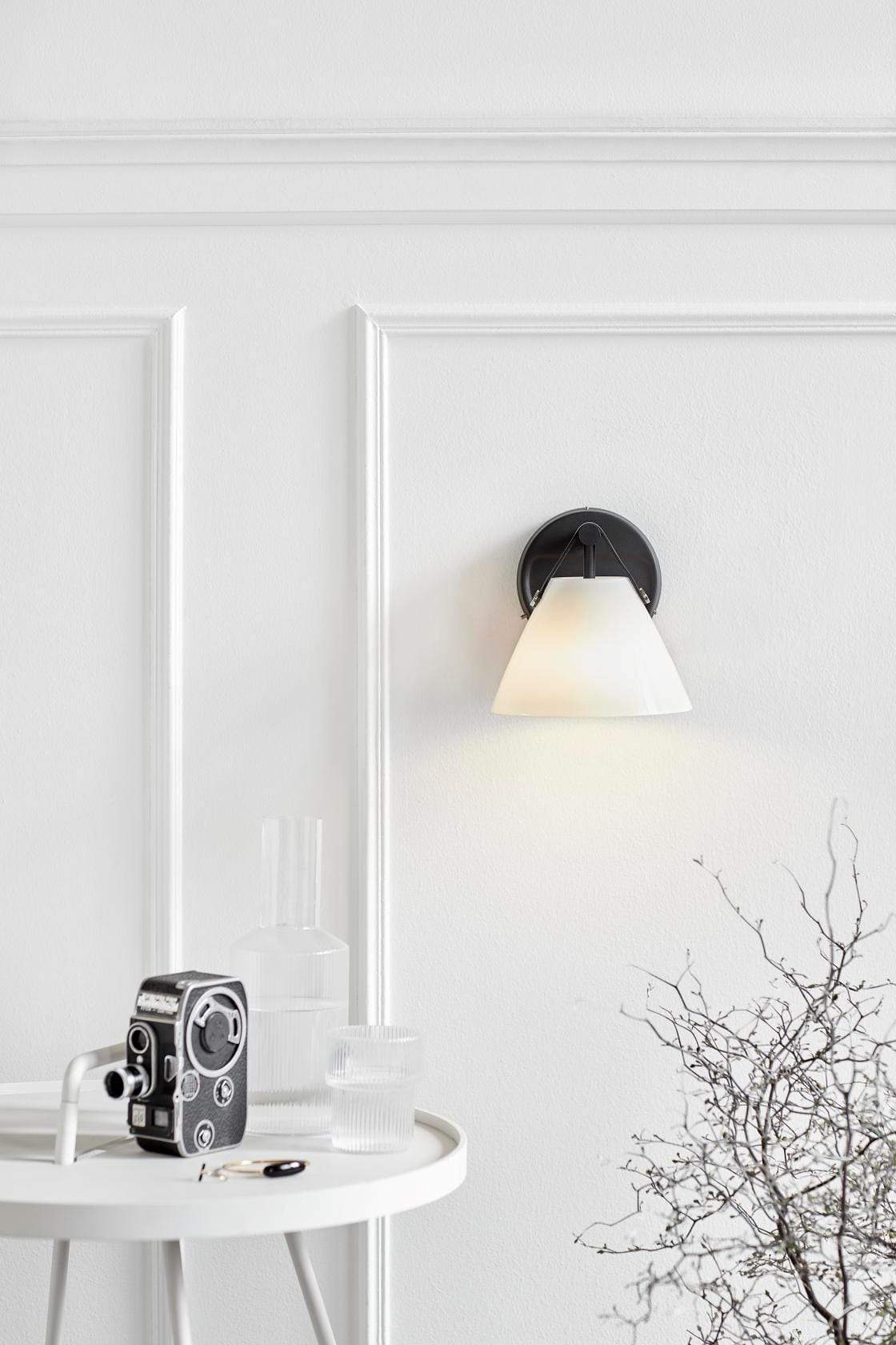 Interior Wall Light / Sconce Strap Glass Wall Light lighting shops lighting stores LED lights  lighting designer