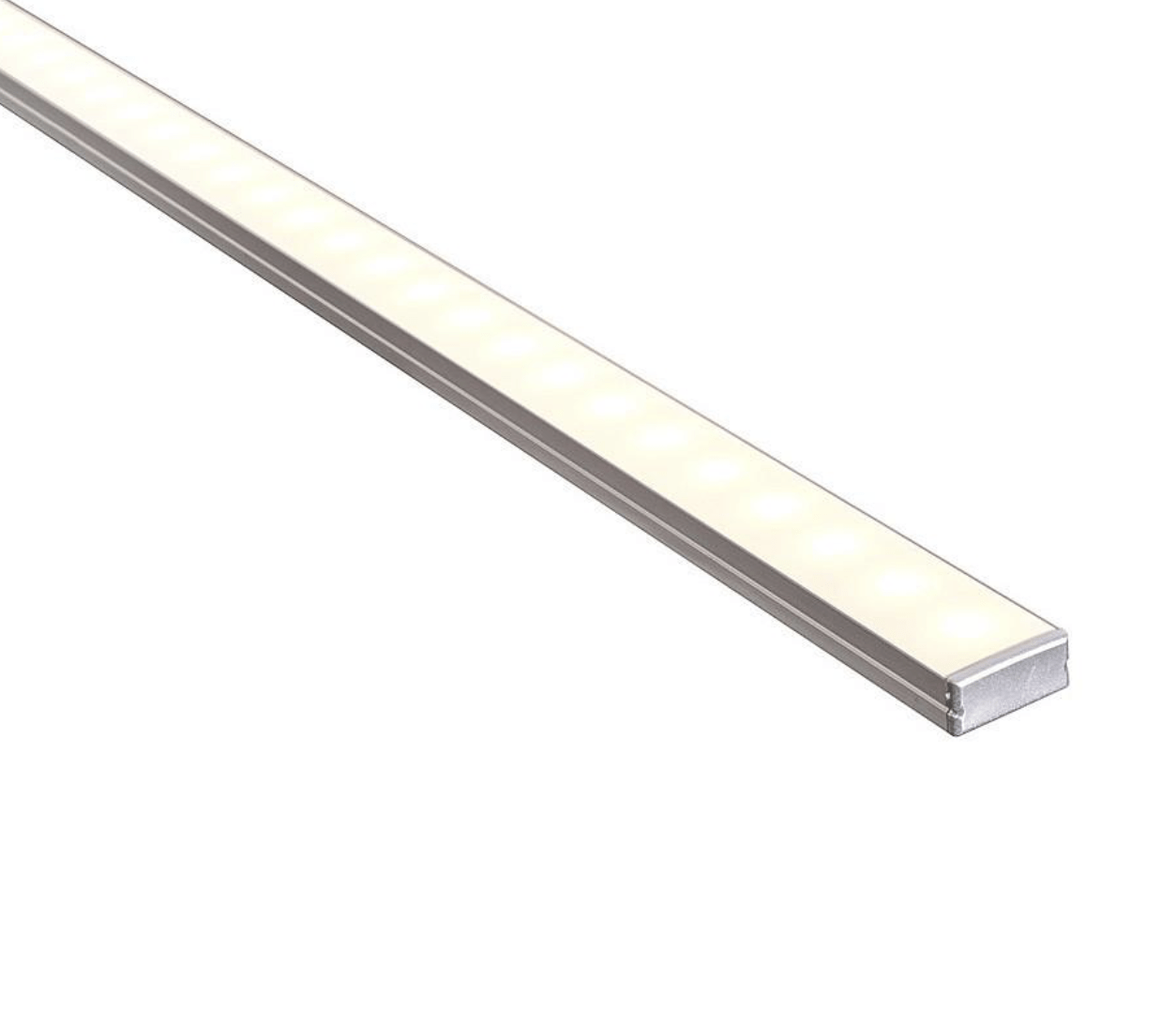 Profiles Surface Mounted Profile - Shallow Double Square - HV9693-2310 lighting shops lighting stores LED lights  lighting designer