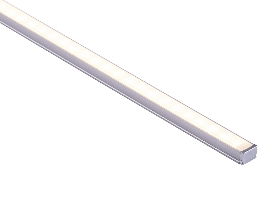 Profiles Surface Mounted Profile - Shallow Square - HV9693-1007  lighting shops lighting stores LED lights  lighting designer