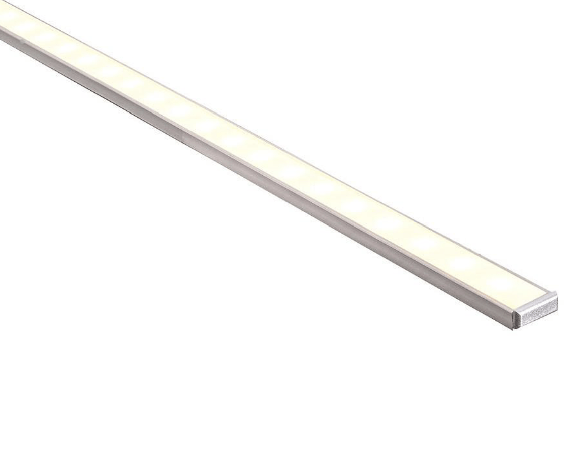 Profiles Surface Mounted Profile - Shallow Square - HV9693-1506 lighting shops lighting stores LED lights  lighting designer
