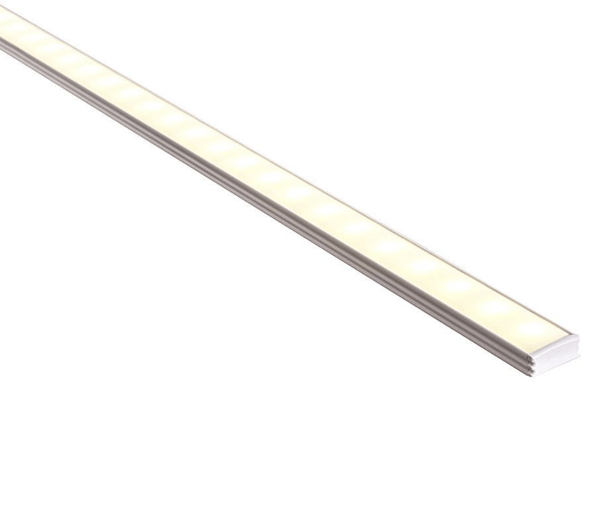 Profiles Surface Mounted Profile - Shallow Square - HV9693-1707 lighting shops lighting stores LED lights  lighting designer
