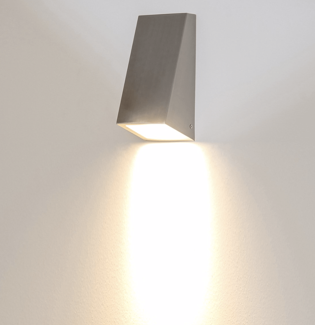 Exterior Wall Light Taper - Large Wall Wedge