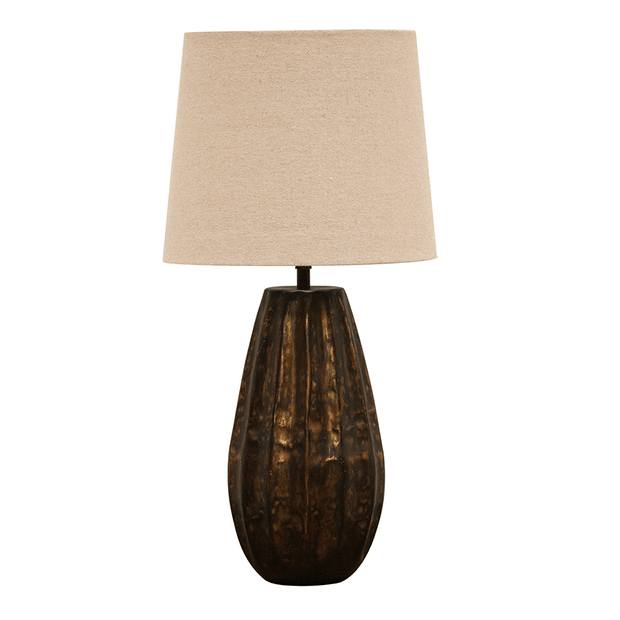 Table Lamps Tapered Seed Pod Design lighting shops lighting stores LED lights  lighting designer