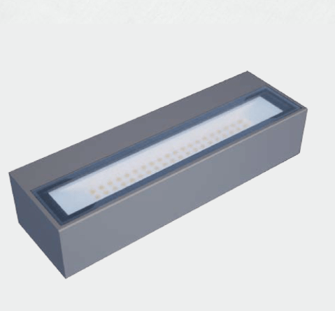 Exterior Wall Light Tile Up/Down LED Wall Light
