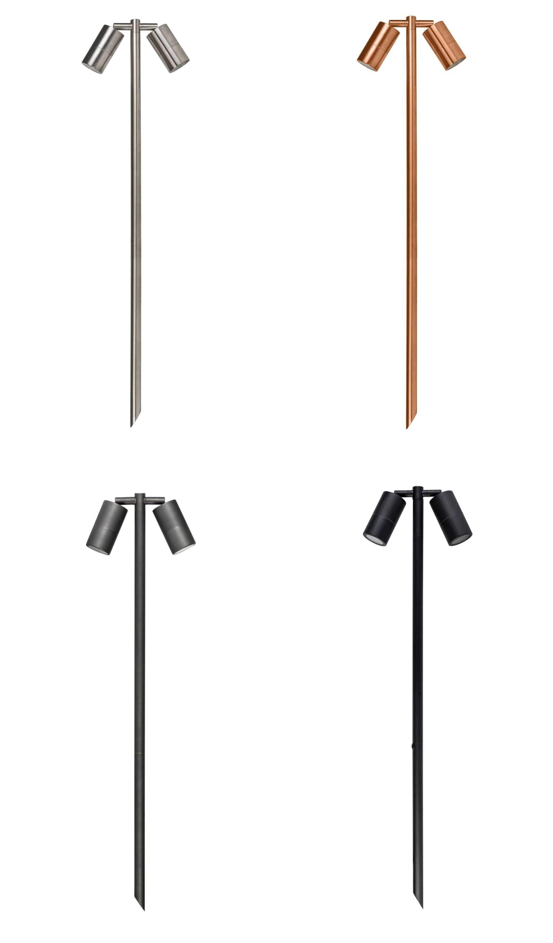 Spike Lights Tivah Double Adjustable Tall Spike Light