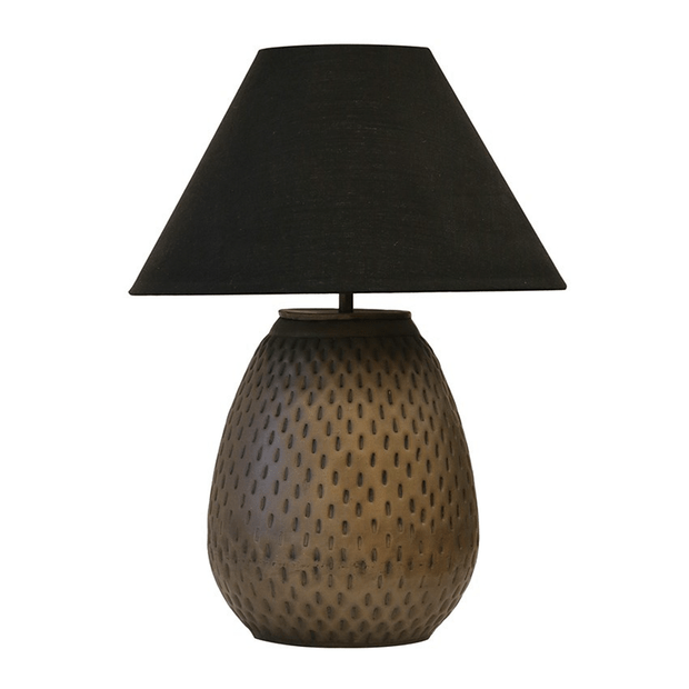 Table Lamps Urn Lamp In Dark Brass Antique Finish