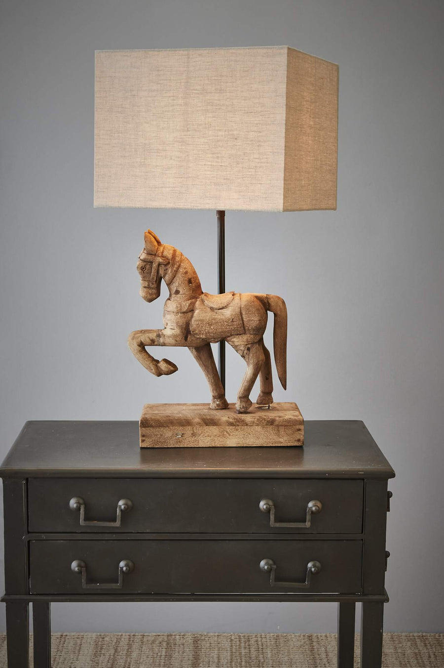 Wooden Horse Table Lamp lighting shops lighting stores LED lights  lighting designer