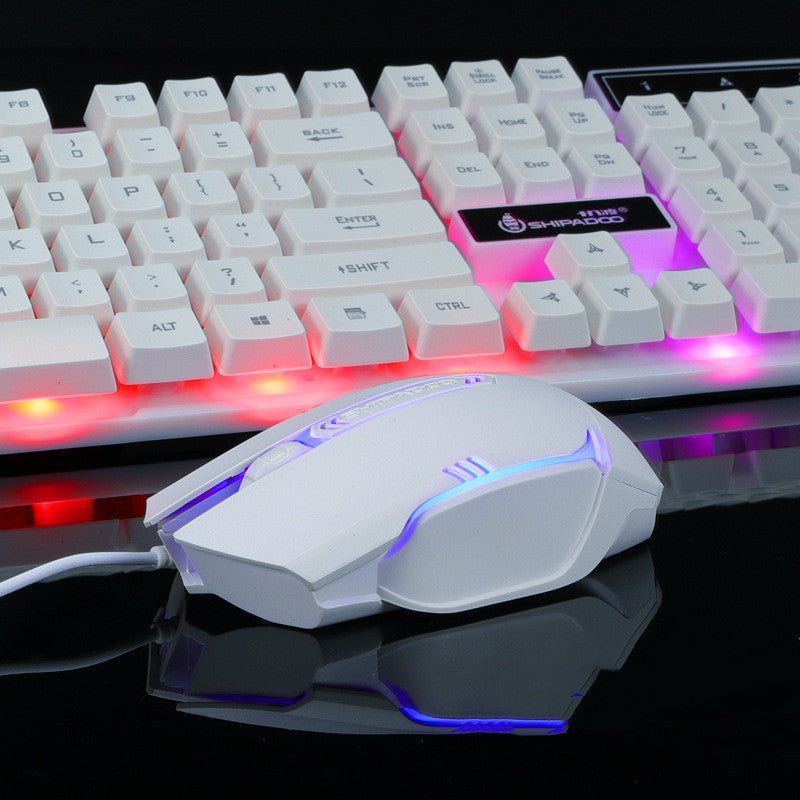 Notebook external gaming keyboard and mouse