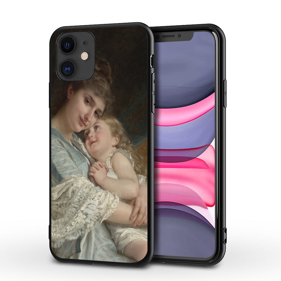 Angel Baby Oil Painting Phone Case (PRE-PAID)