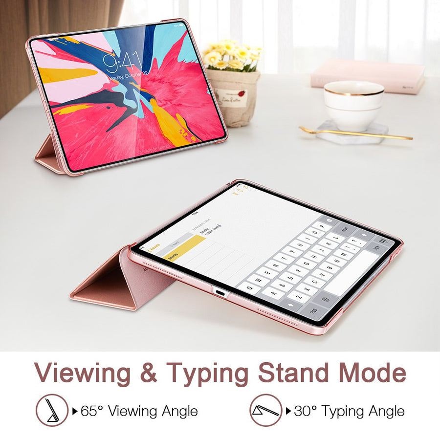 Magnetic Smart Case for iPad Pro 11 2021 Cover Trifold Stand Magnet Case Magnetic Attachment Rubberized Cover for iPad Pro11