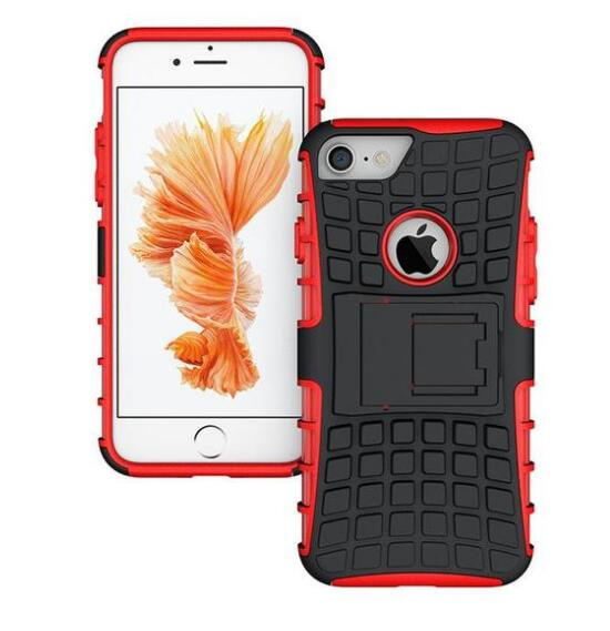 Heavy Duty iPhone Case with Kickstand