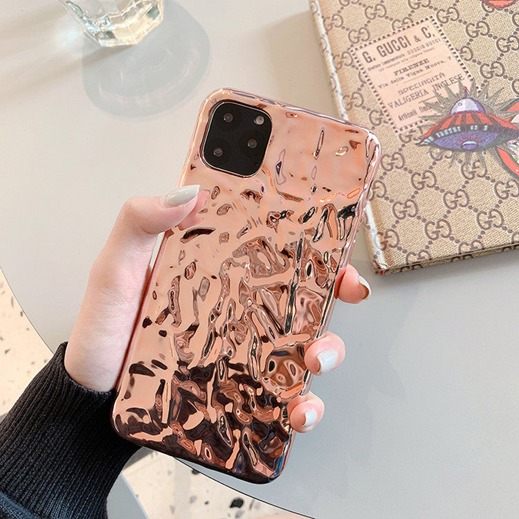 Japanese and Korean Tinfoil Mobile Phone Case