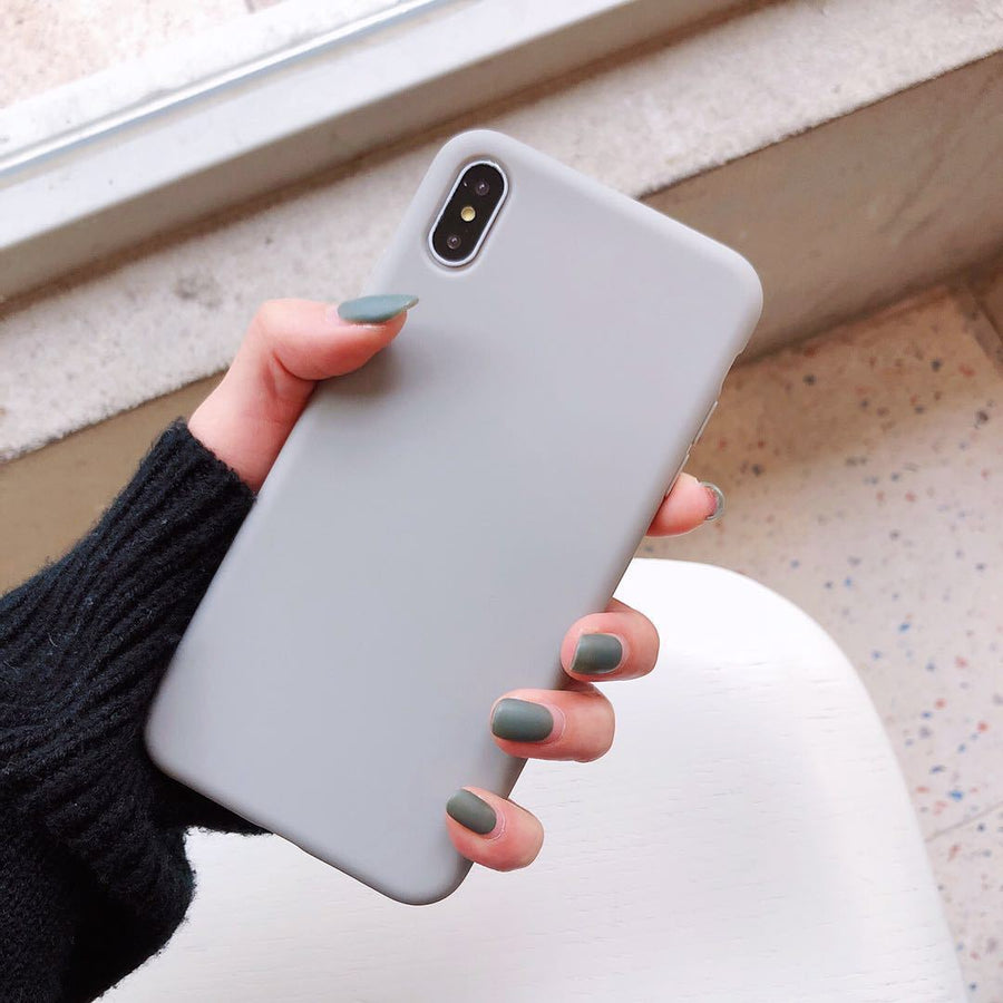 Frosted All-Inclusive Mobile Phone Case