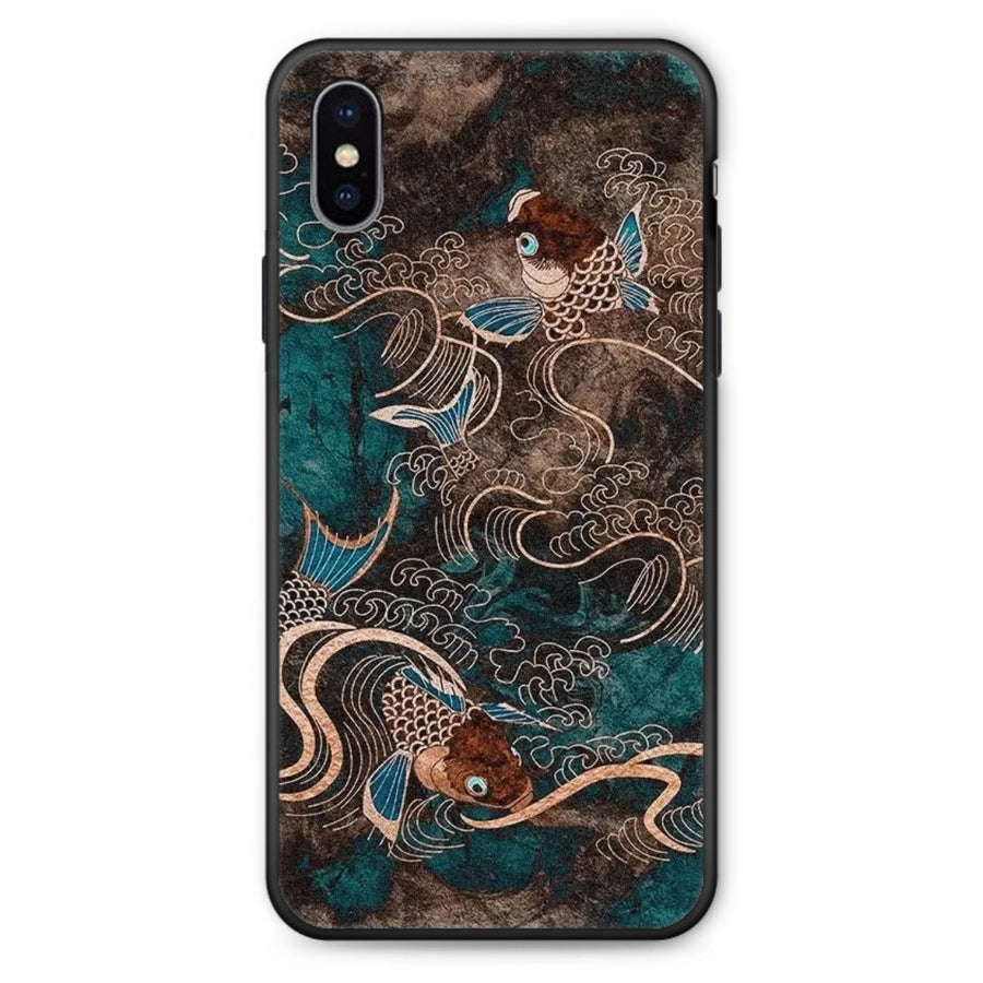 Pisces Kaiyun Mobile Phone Case Chinese Style
