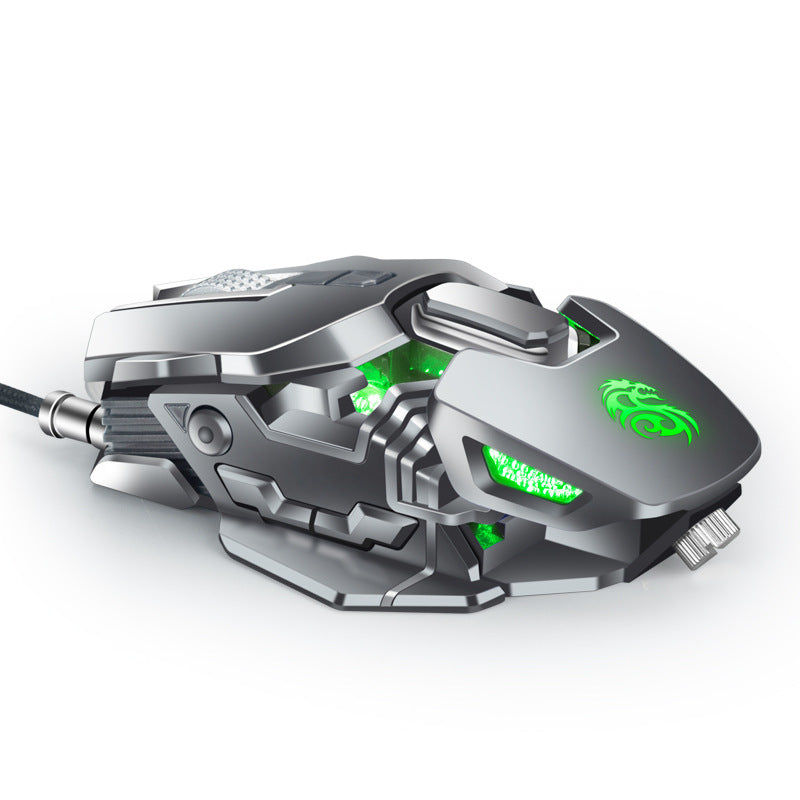 Jagged Weird Uncomfortable-Looking Computer Mouse