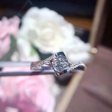 18K Gold 20 Minute Angel Kiss Diamond Ring