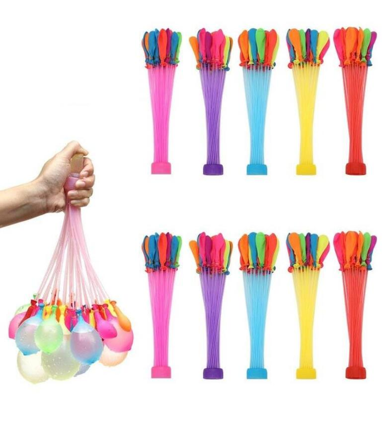 111pcs Quick Fill Water Balloons Water Injection Balloon Supplementary