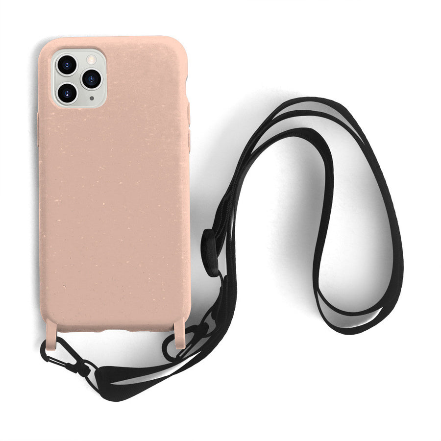 Environmental protection sling phone case