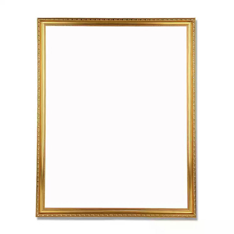 Gold color photo frame
