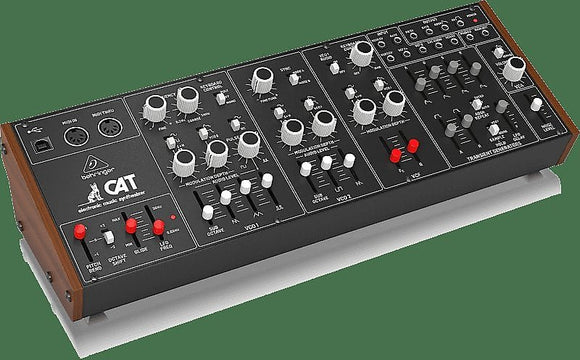 Behringer CAT Legendary Duophonic Analog Synthesizer w/ Dual VCOs, 4 Mixable Waveforms (In Stock!)