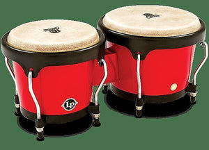 LP Latin Percussion LPA601F-RD Aspire Series Fiberglass Bongos