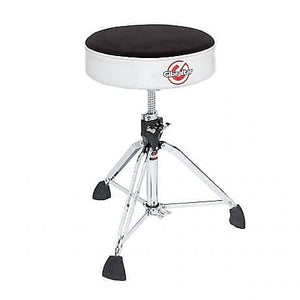 Gibraltar 9000 Series 9608RSW Professional Double-Braced Throne w/Super Foot (Silver White Sparkle)
