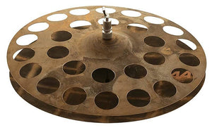 "Sabian 218SHN 18"" AA Sick Hi-Hat (Pair) Cymbals w/ Video Link"
