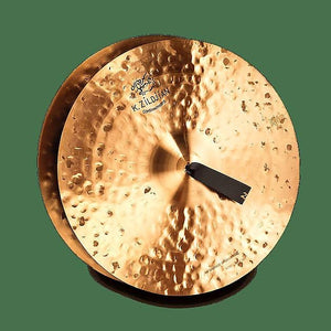 "Zildjian K1122 18"" K Constantinople Vintage Orchestral Medium-Heavy Hand Crash Cymbals (Pair)"