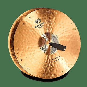 "Zildjian K1142 20"" K Constantinople Vintage Orchestral Medium-Light Hand Crash Cymbals (Pair)"