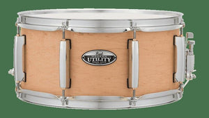 "Pearl MUS1465M224 14x6.5"" Modern Utility Maple Snare Drum in Matte Natural Finish"