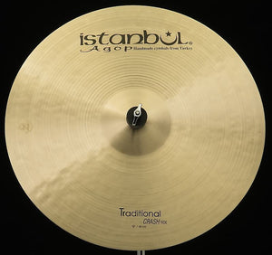 "Istanbul Agop Traditional 19"" Crash Ride"