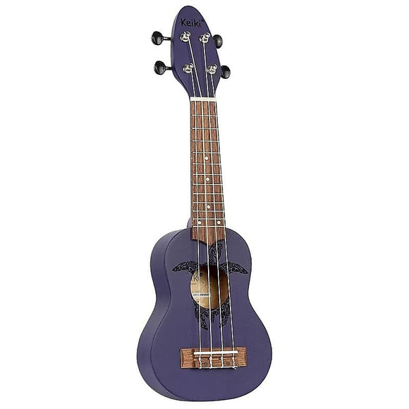 Ortega Guitars K1-PUR Keiki Sopranino Ukulele in Purple