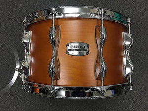 "Yamaha (Open Box) 8x14 Recording Custom Snare Drum in Satin ""Real Wood"" Finish"