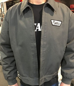 Bentley's Drum Shop Small-2XL Work Jackets in Gray