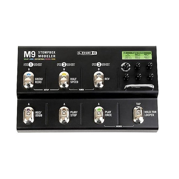 Line 6 M9 Stompbox Modeler Pedal w/ Video Link
