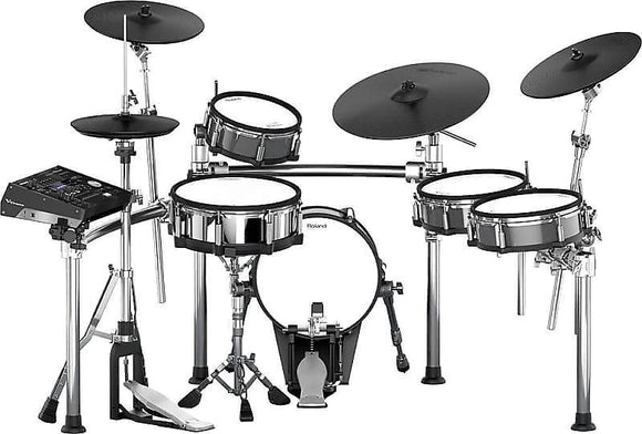 Roland V-Drum TD-50KV Electronic Drum Set Kit w/ FREE DW Machined Chain Drive Double Pedal