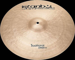 "Istanbul Agop CR16 16"" Traditional Crash/Ride Cymbal"