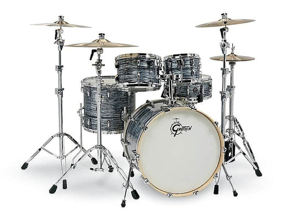 Gretsch Renown 5 Piece Drum Set (22/10/12/16/14sn) in Silver Oyster Pearl RN2-E825-SOP