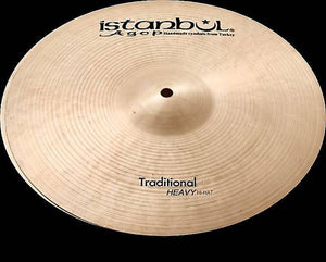 "Istanbul Agop HVH17 17"" Traditional Heavy Hi-Hat (Pair) Cymbals"