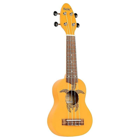 Ortega Guitars K1-ORG Keiki Sopranino Ukulele in Orange