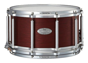 "Pearl Free-Floating 14x8"" African Mahogany Snare Drum in Satin Red Mahogany"